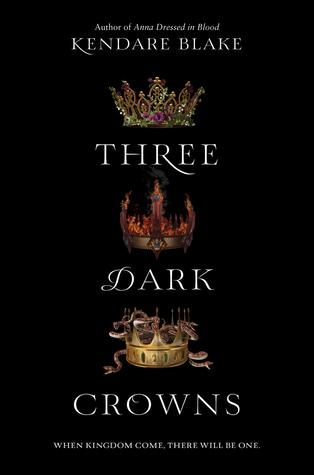 three dark crowns cover